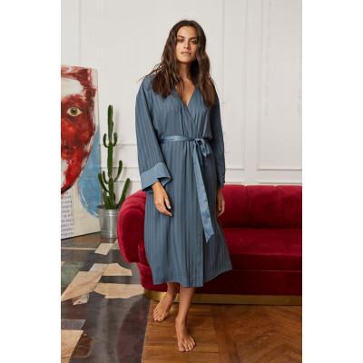 Домашний уютный халат из поливискозной ткани