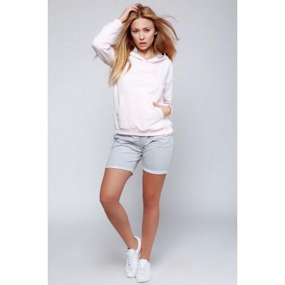 Хлопковый комплект Fittie: свитшот и шорты