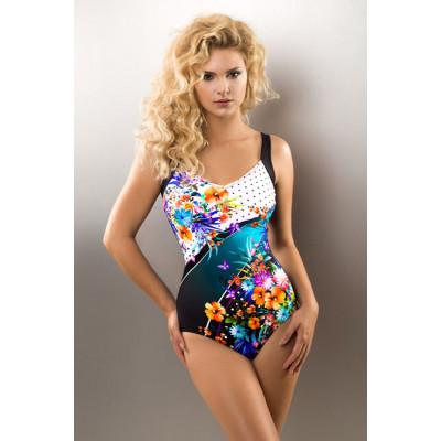 Эффектный женский купальник Cameron с цветочным орнаментом