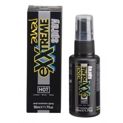 Защитный и расслабляющий анальный спрей Exxtreme - 50 мл.