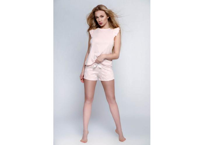 Оригинальная пижама Blanca с принтом в виде пёрышек