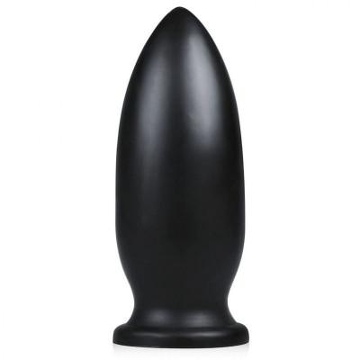 Черная анальная пробка Yellow Dog - 25,5 см.