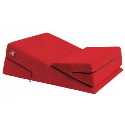 Красная подушка для секса из двух частей Liberator Wedge/Ramp Combo