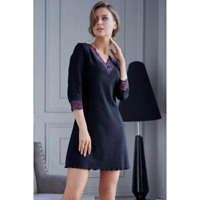 Короткое платье Roberta с кружевным декором