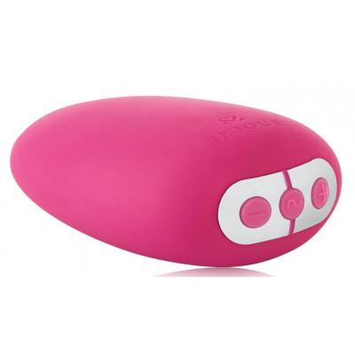 Ярко-розовый клиторальный стимулятор Mimi