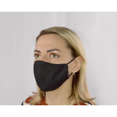 Черная женская гигиеническая маска