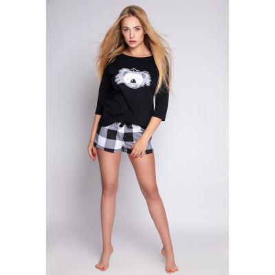 Хлопковая пижама Fluffy с коалой